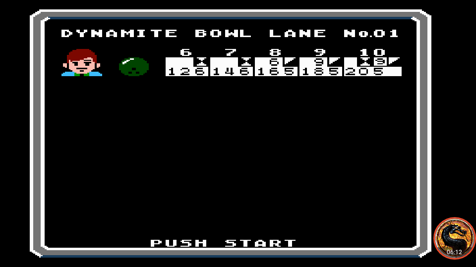 omargeddon: Dynamite Bowl (NES/Famicom Emulated) 205 points on 2019-10-13 13:54:08