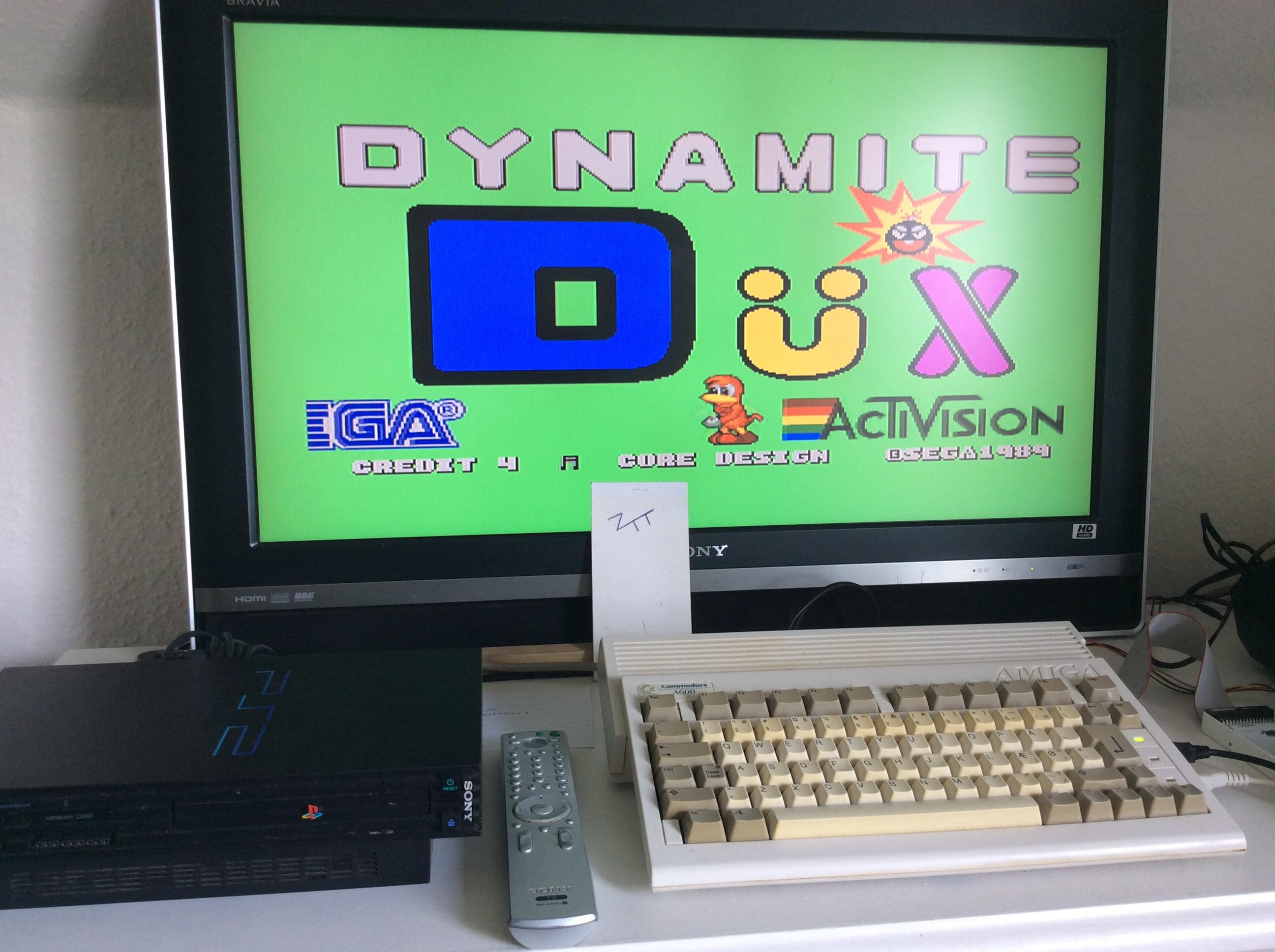Frankie: Dynamite Düx (Amiga) 161,060 points on 2016-08-08 08:27:19