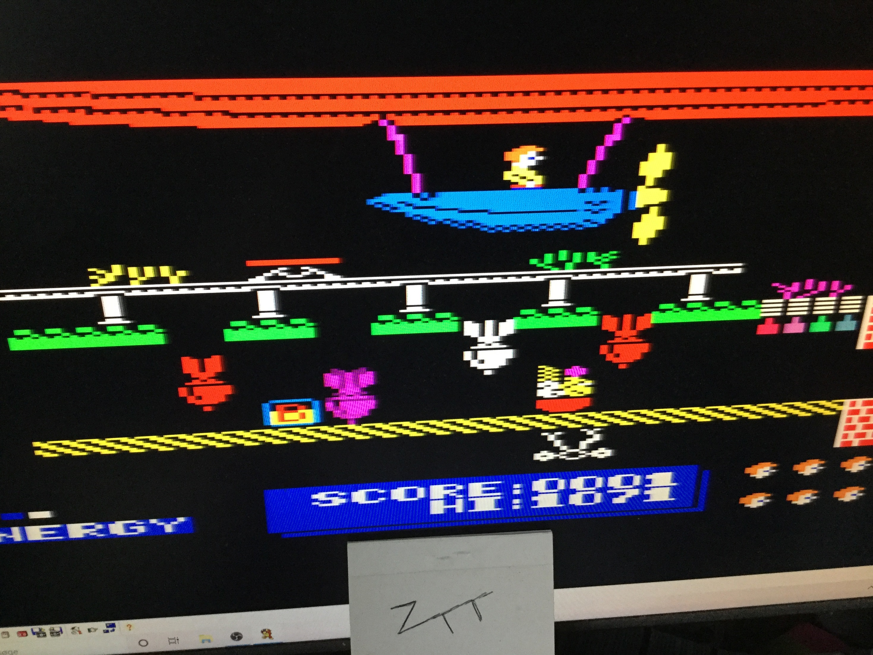 Frankie: Dynamite Dan (Amstrad CPC Emulated) 1,071 points on 2021-03-13 04:00:10