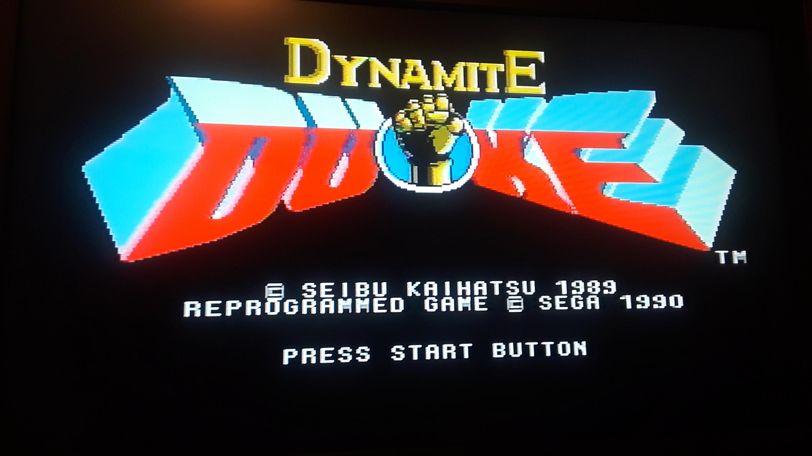 JML101582: Dynamite Duke (Sega Genesis / MegaDrive Emulated) 16,600 points on 2019-12-05 21:41:40