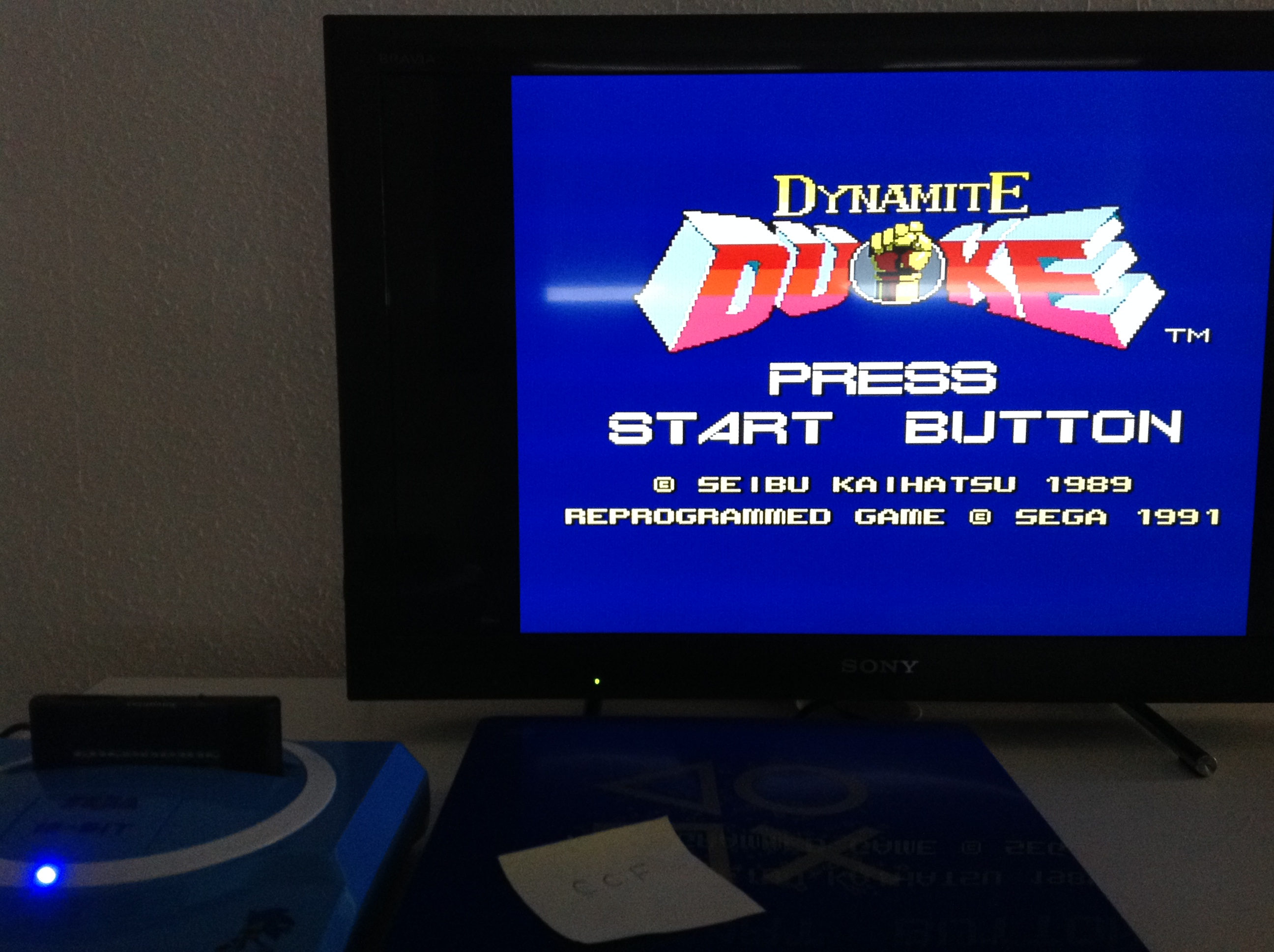 CoCoForest: Dynamite Duke (Sega Master System) 75,600 points on 2018-07-24 01:53:36