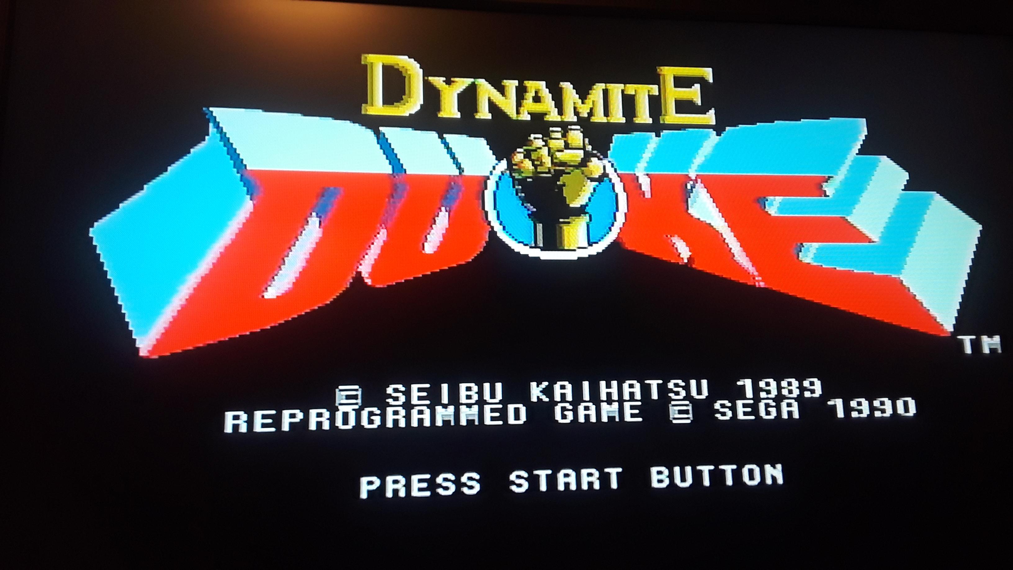 JML101582: Dynamite Duke [Super] (Sega Genesis / MegaDrive Emulated) 3,800 points on 2019-12-08 17:05:46