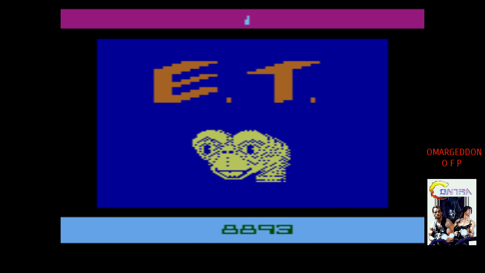 omargeddon: E.T. The Extra-Terrestrial: Game 1AB (Atari 2600 Emulated) 8,893 points on 2017-10-27 18:11:30