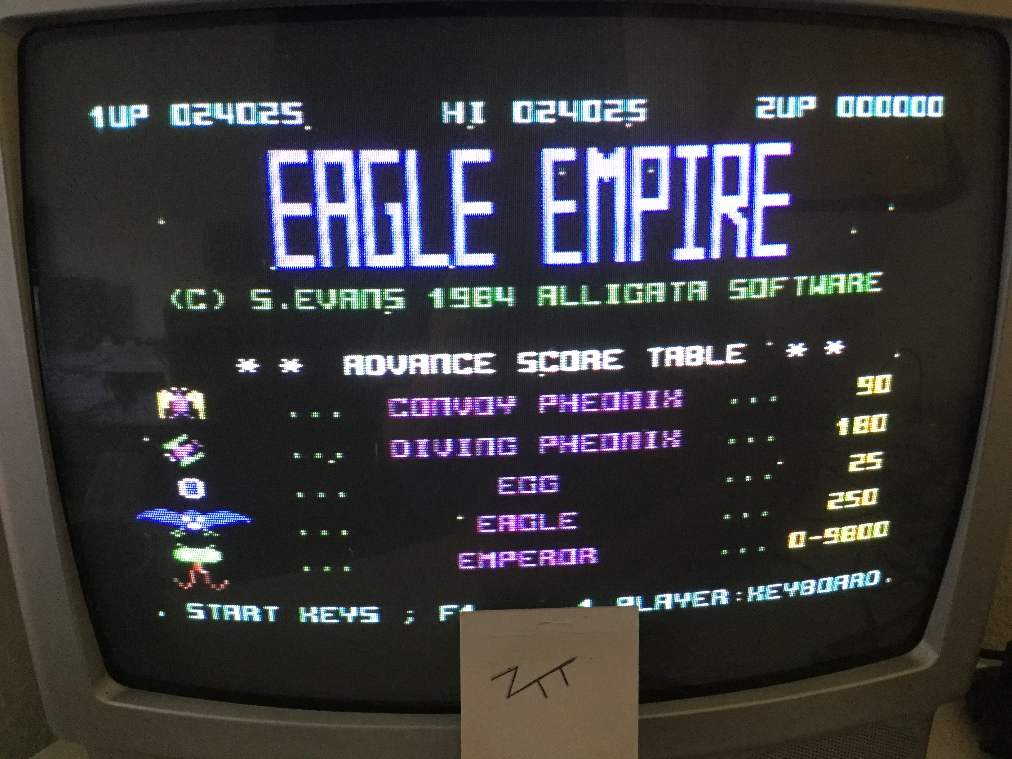 Frankie: Eagle Empire (Commodore 64) 24,025 points on 2017-05-07 05:34:44