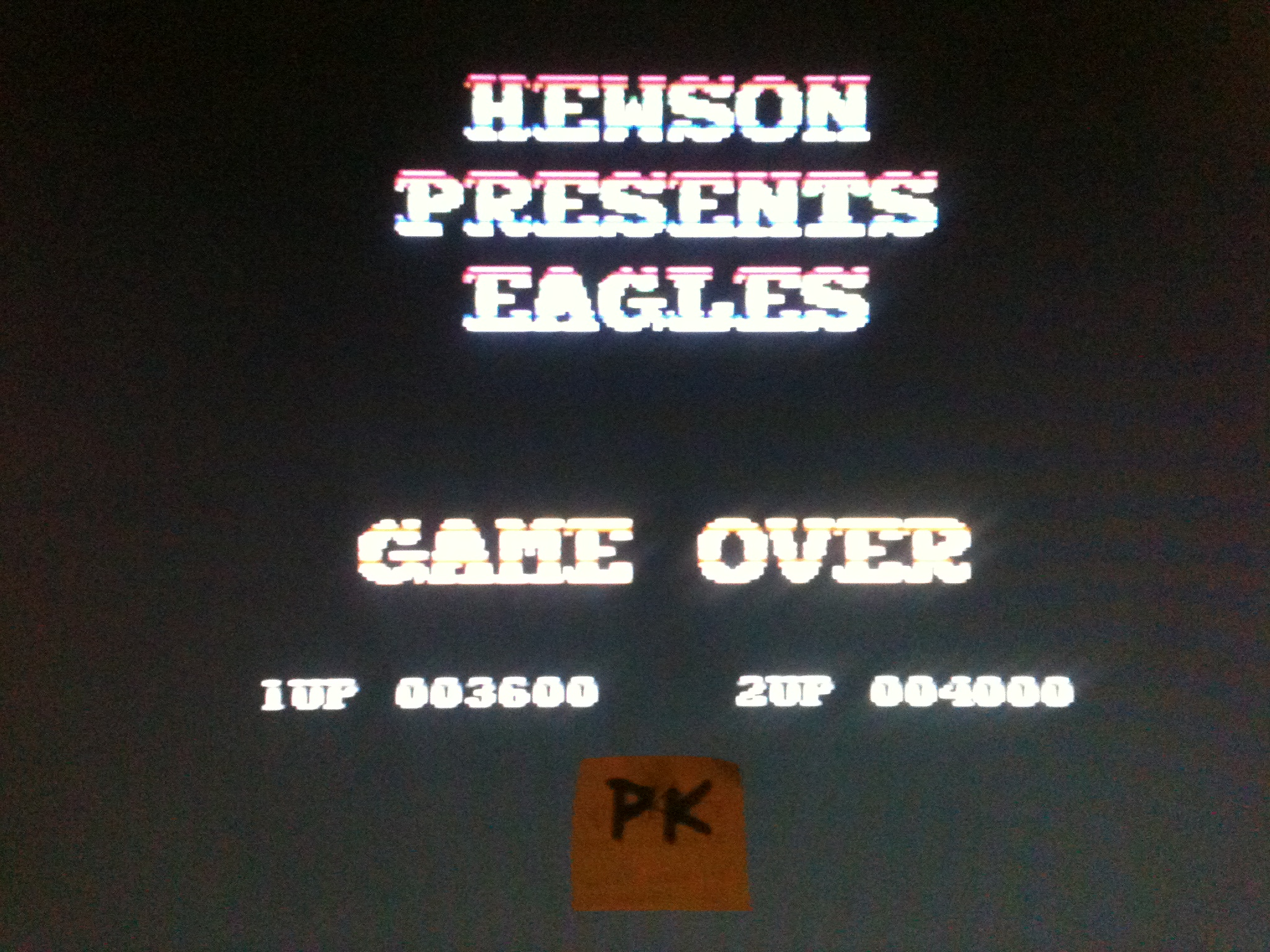 kernzy: Eagles (Commodore 64) 3,600 points on 2015-12-12 09:25:46