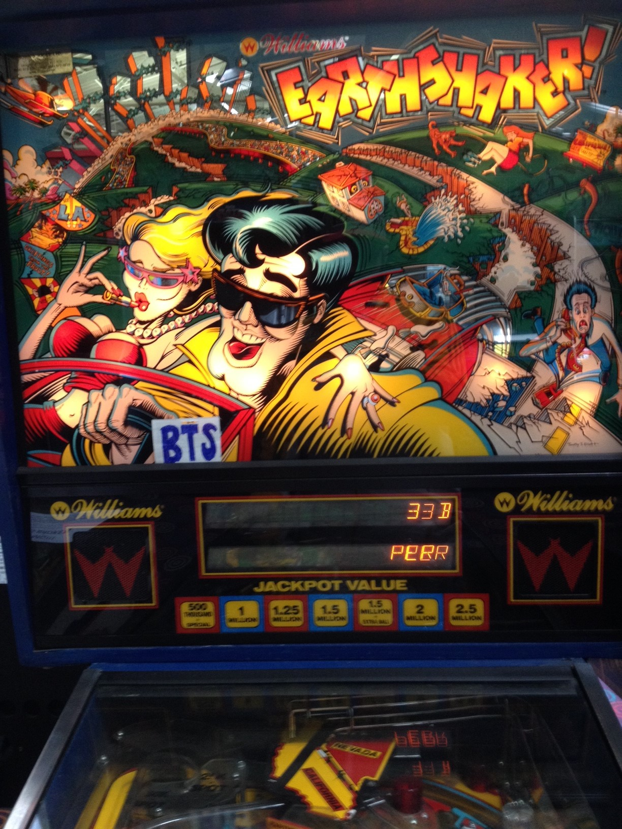 bensweeneyonbass: Earthshaker (Pinball: 3 Balls) 3,757,490 points on 2016-03-21 08:58:45