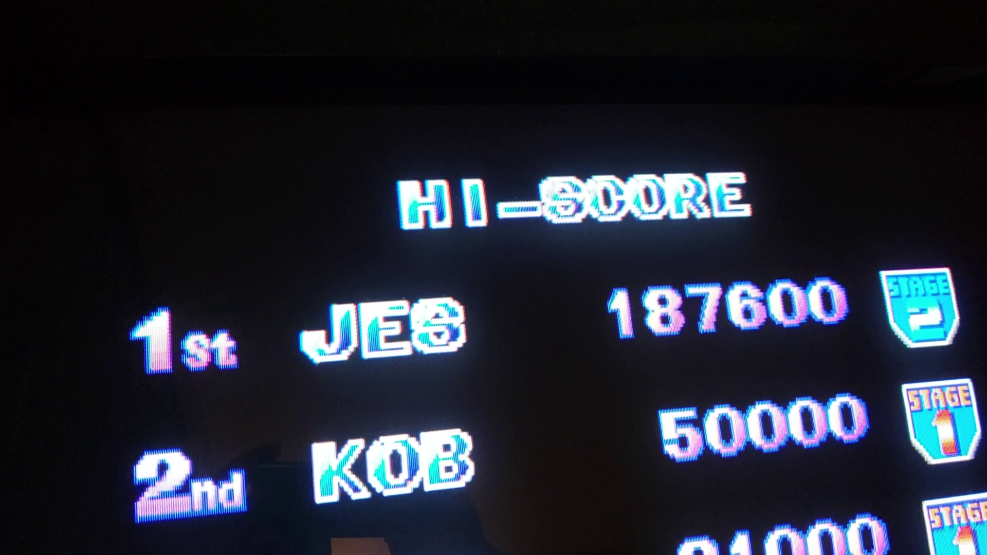JES: Eco Fighters [ecofghtr] (Arcade Emulated / M.A.M.E.) 187,600 points on 2020-01-25 21:41:54