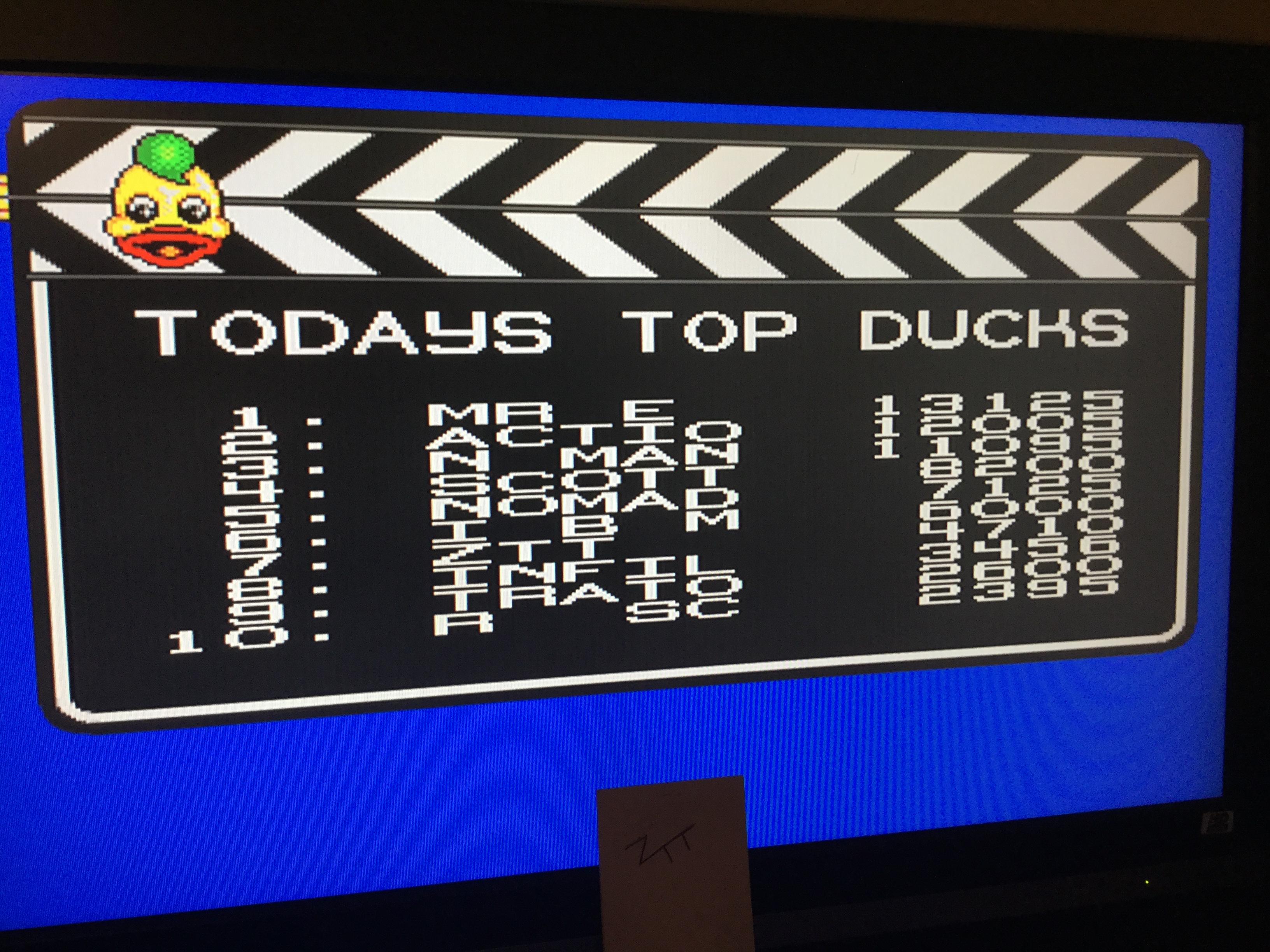 Frankie: Edd the Duck! (Amiga) 4,710 points on 2017-11-18 11:52:54