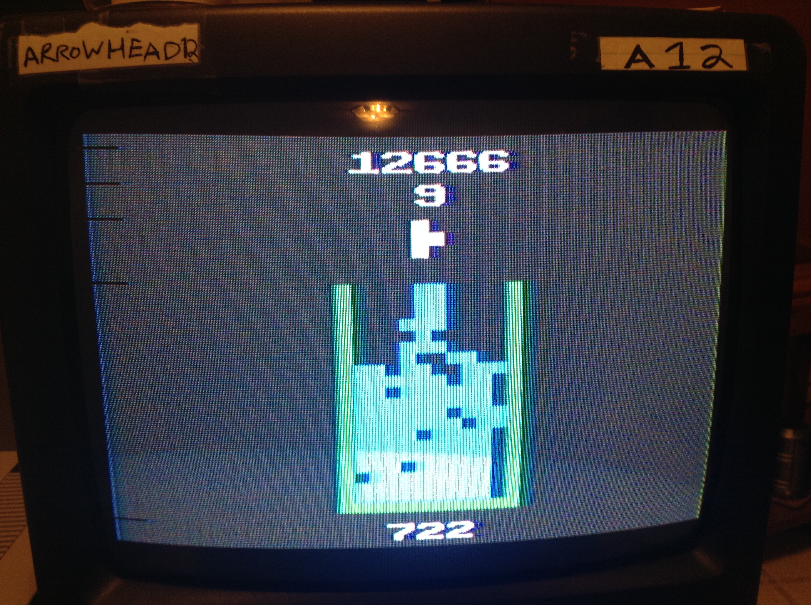 Arrowhead12: Edtris (Atari 2600 Novice/B) 12,666 points on 2019-02-16 15:16:07