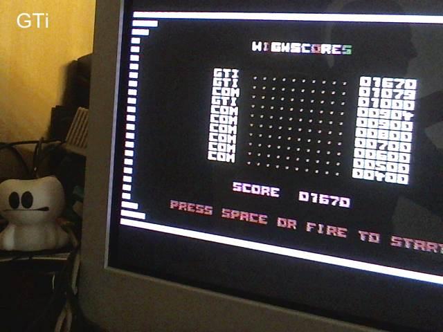 GTibel: Egon (Commodore 16/Plus4) 1,670 points on 2018-04-23 01:58:47