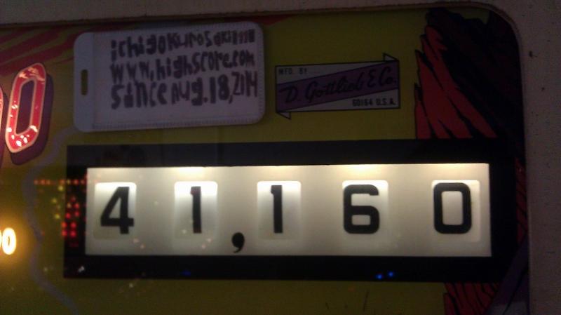 ichigokurosaki1991: El Dorado [1975 Pinball] (Pinball: 5 Balls) 41,160 points on 2016-04-08 10:01:37