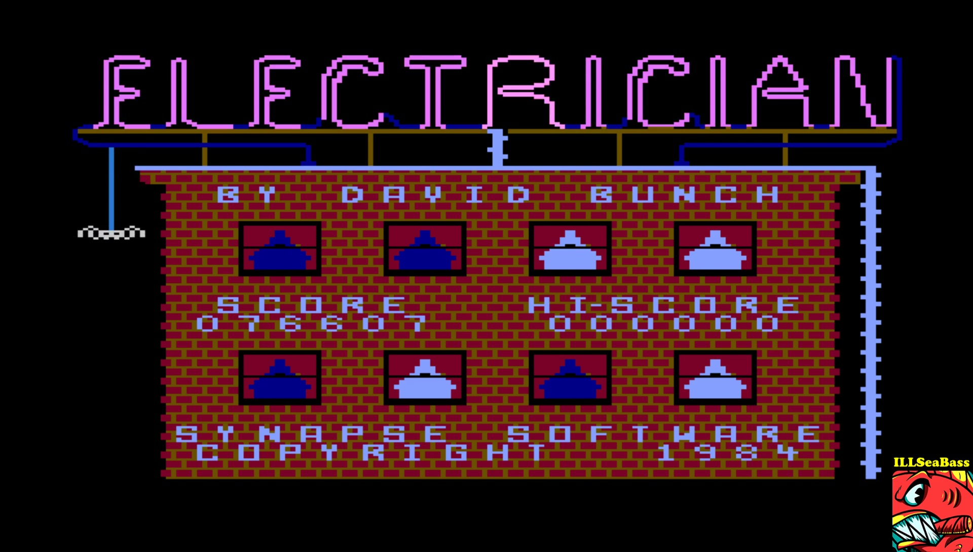 ILLSeaBass: Electrician (Atari 400/800/XL/XE Emulated) 76,607 points on 2017-05-15 23:26:25