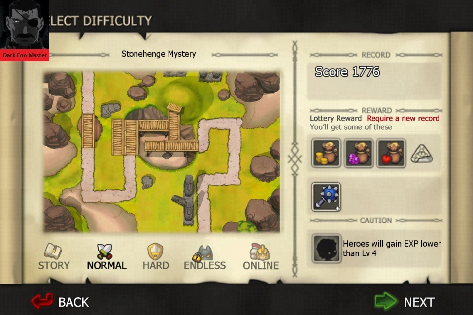 Element Defense: EARTH: Stonehenge Mystery [Normal] 1,776 points