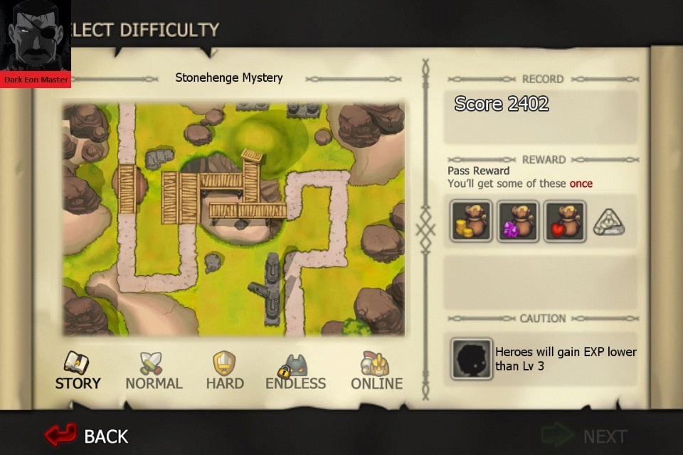 Element Defense: EARTH: Stonehenge Mystery [Story] 2,402 points