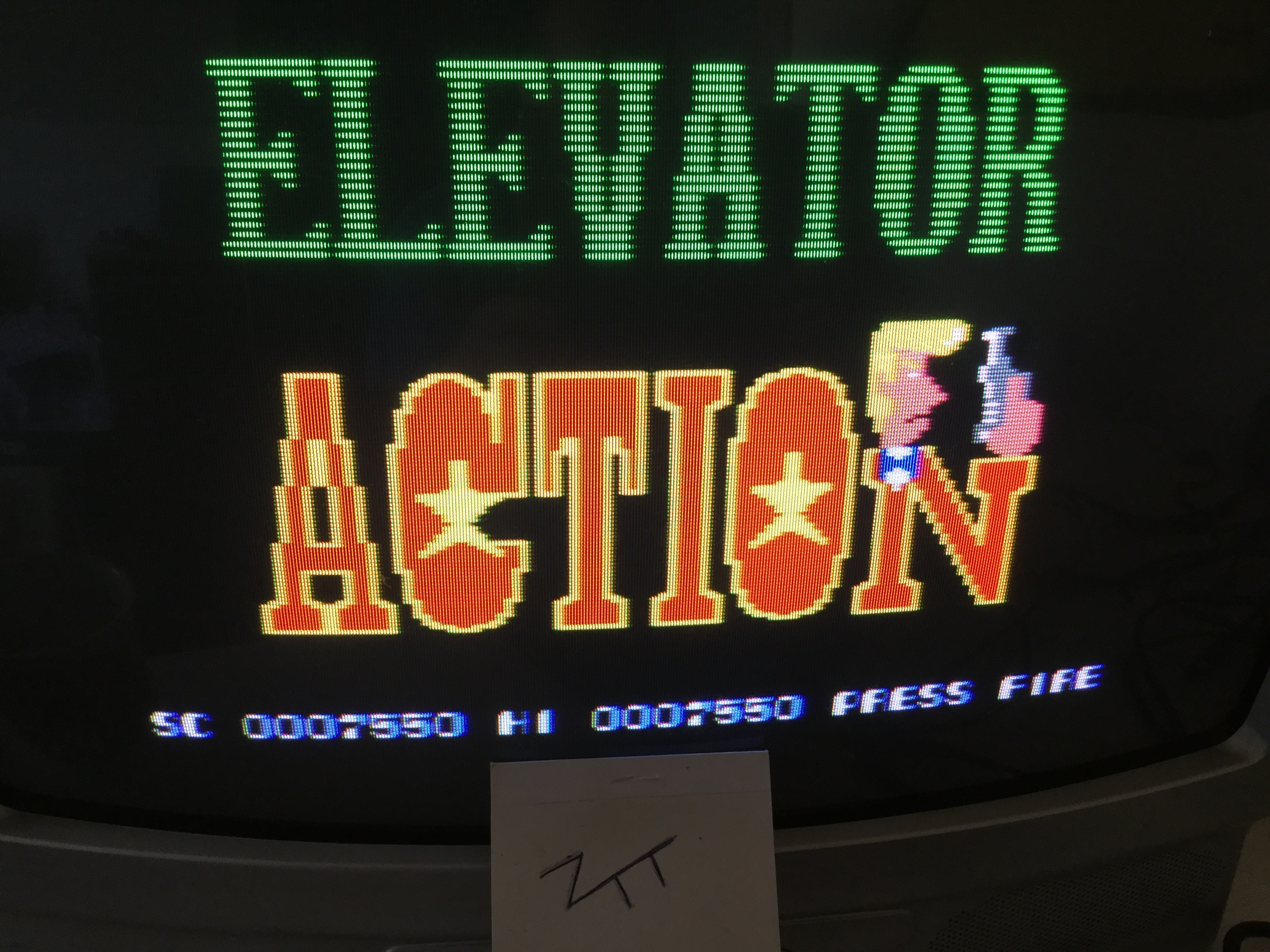 Frankie: Elevator Action (Amstrad CPC) 7,550 points on 2017-01-28 06:57:02