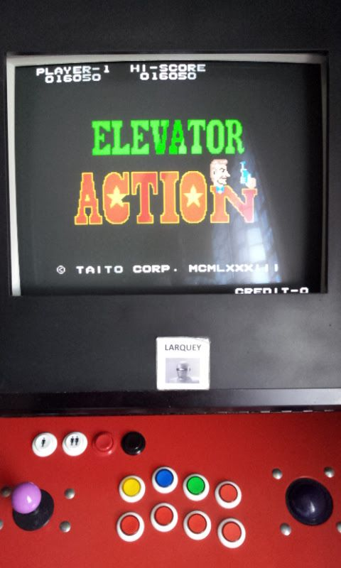 Elevator Action 16,050 points