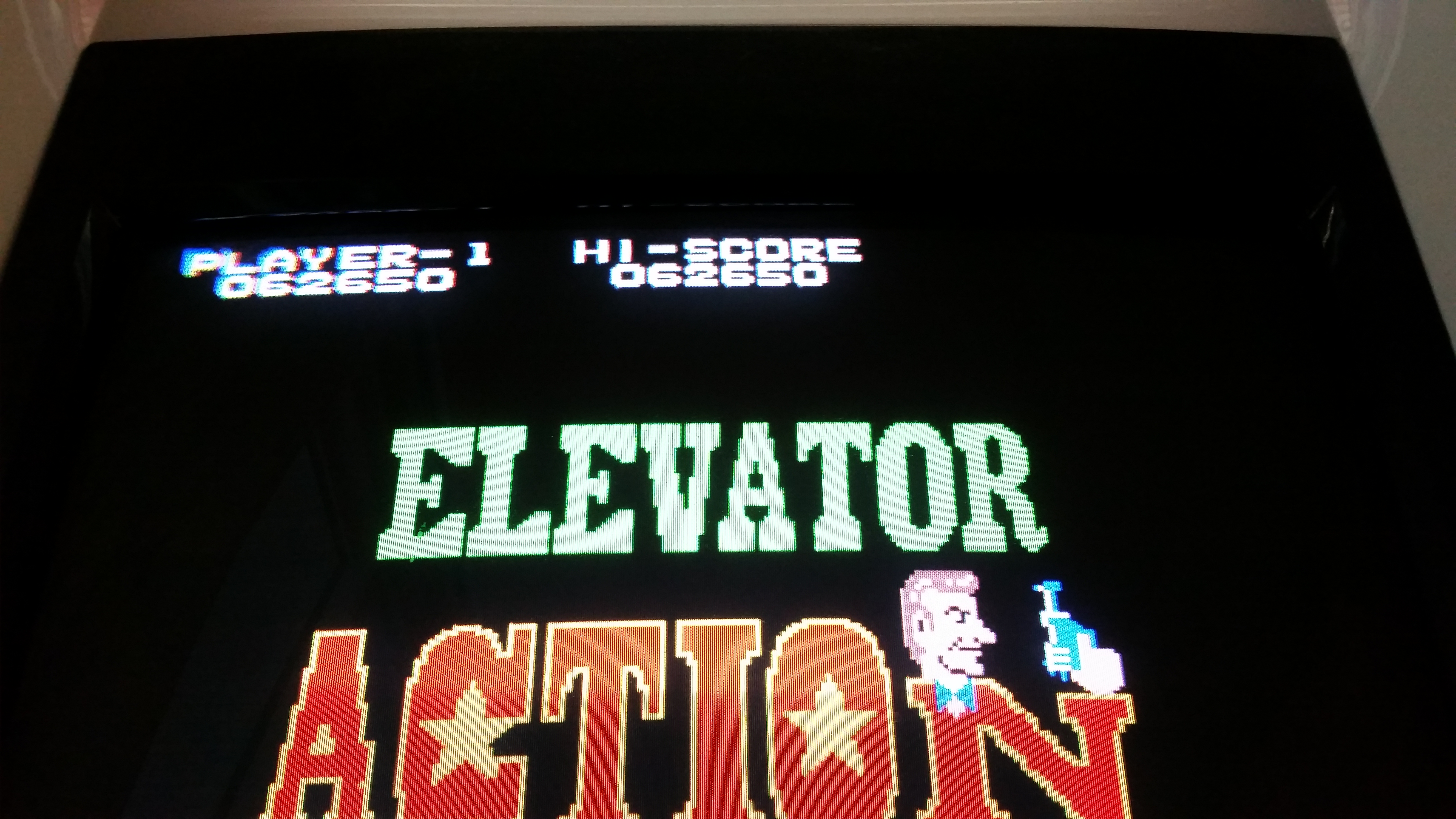JES: Elevator Action (Arcade Emulated / M.A.M.E.) 62,650 points on 2016-09-30 22:00:12