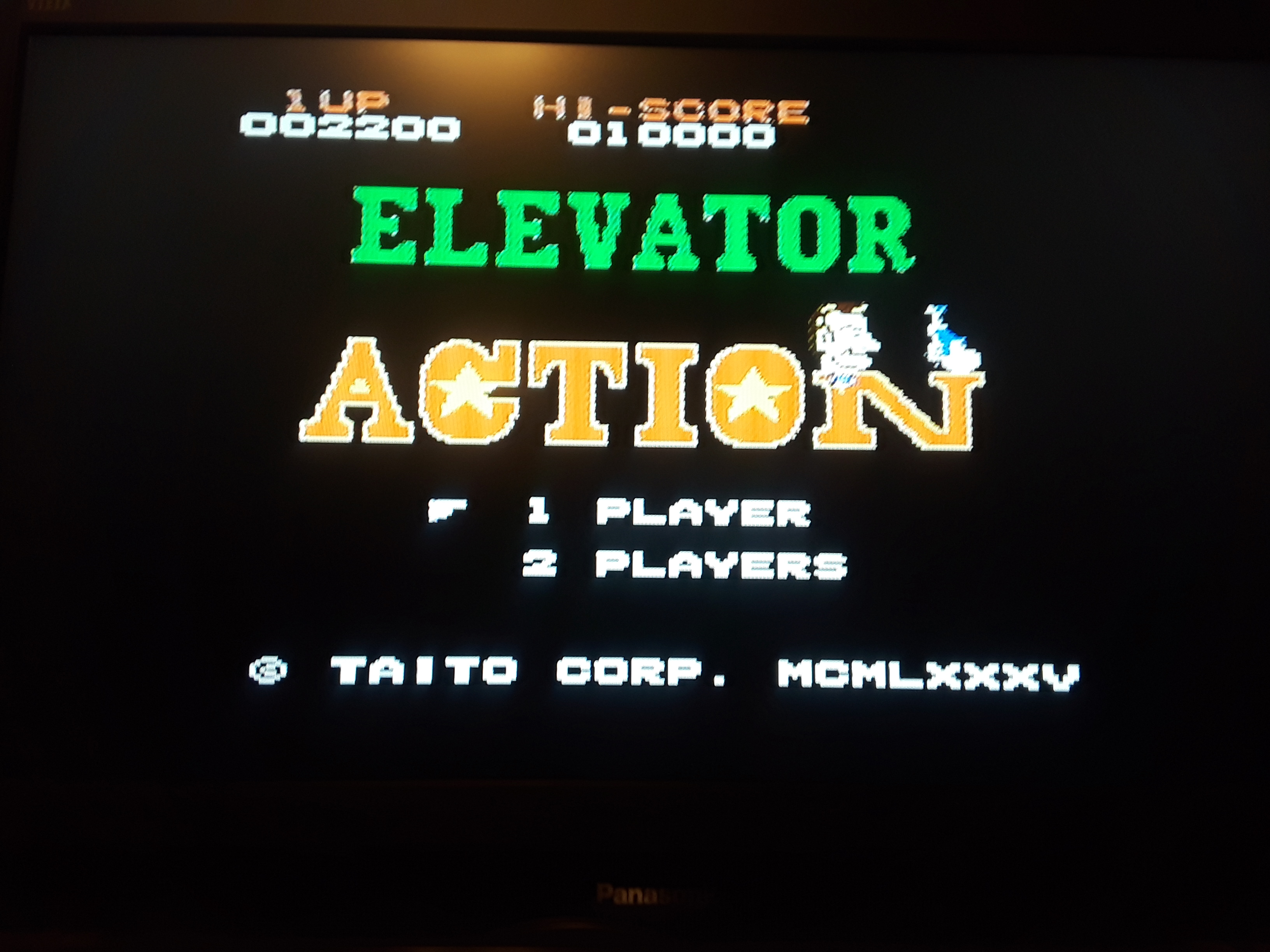 Elevator Action 2,200 points