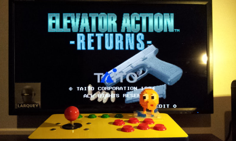 Larquey: Elevator Action Returns [elvactrj] (Arcade Emulated / M.A.M.E.) 66,100 points on 2017-02-20 14:44:00
