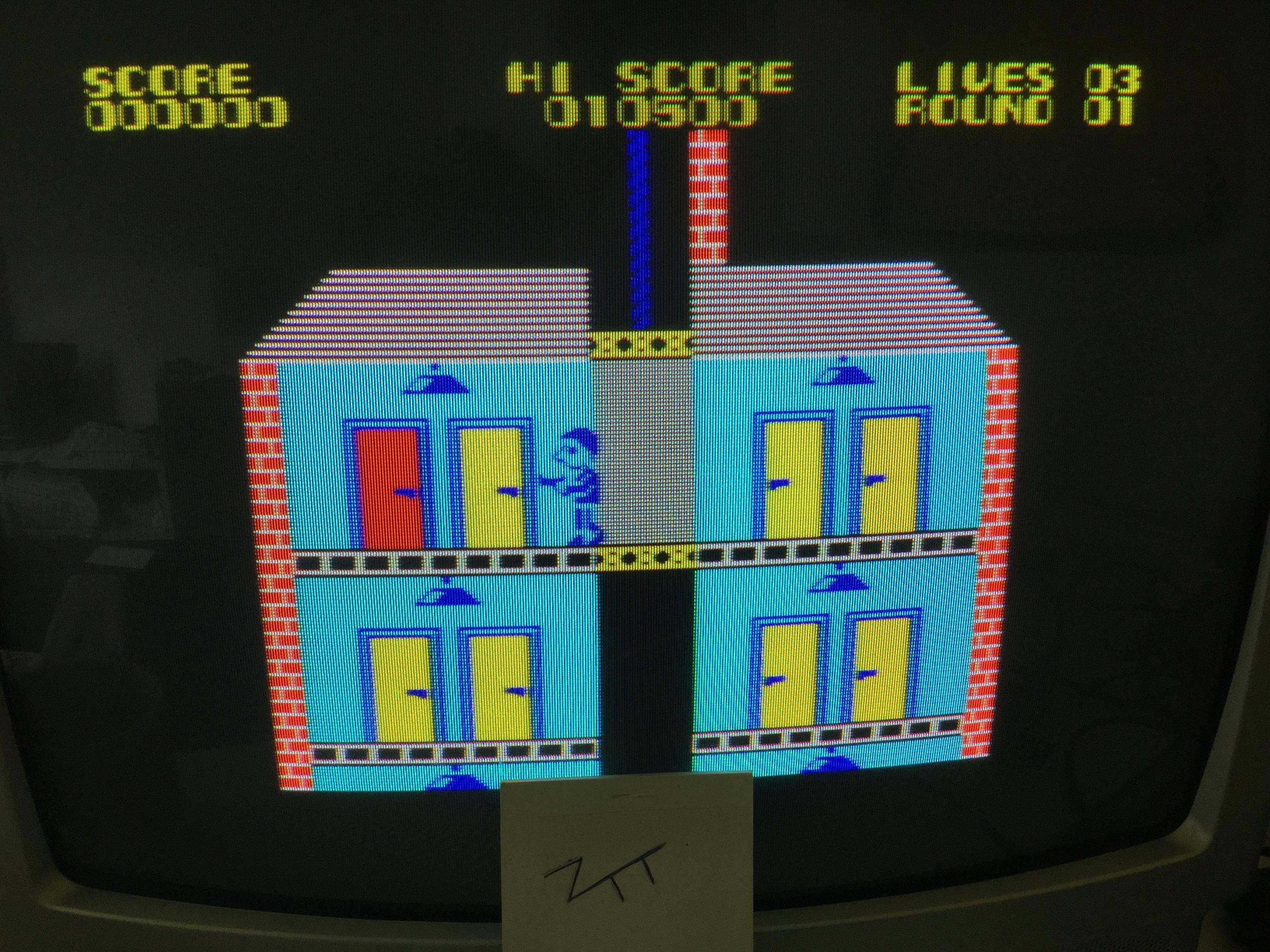 Frankie: Elevator Action (ZX Spectrum) 10,500 points on 2017-09-02 05:36:53