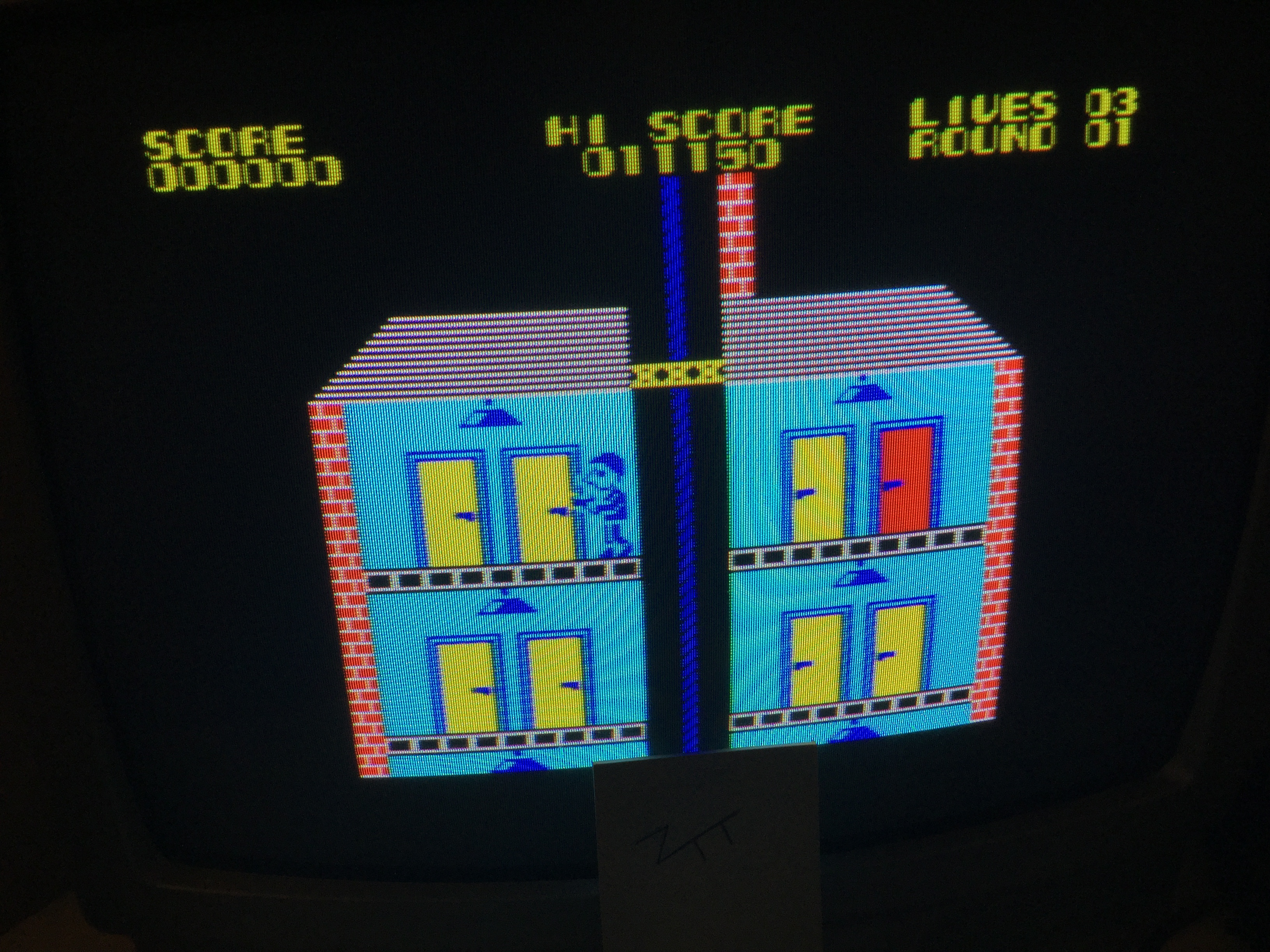 Frankie: Elevator Action (ZX Spectrum) 11,150 points on 2019-09-20 16:18:11