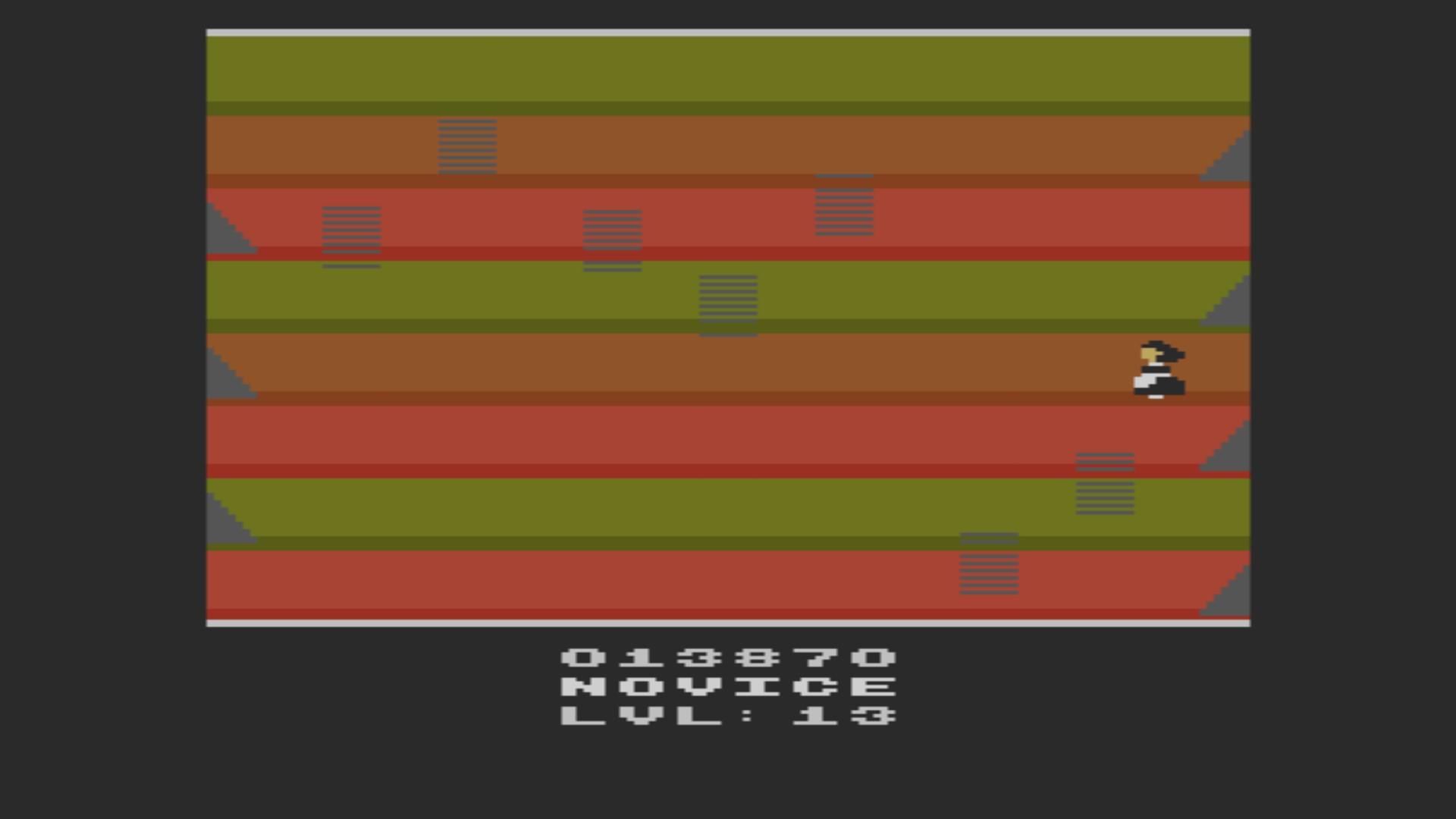 AkinNahtanoj: Elevators Amiss (Atari 2600 Emulated Novice/B Mode) 13,870 points on 2020-10-28 15:20:08