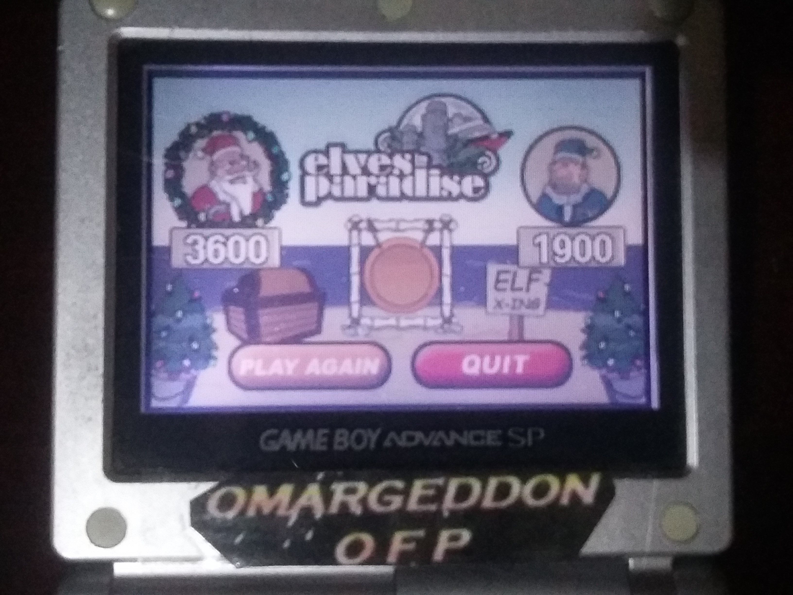 omargeddon: Elf Bowling 2 (GBA) 3,600 points on 2018-01-17 17:13:59