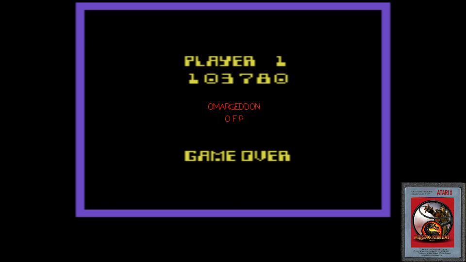 omargeddon: Elk Attack (Atari 2600 Emulated Novice/B Mode) 103,780 points on 2017-01-20 09:54:34
