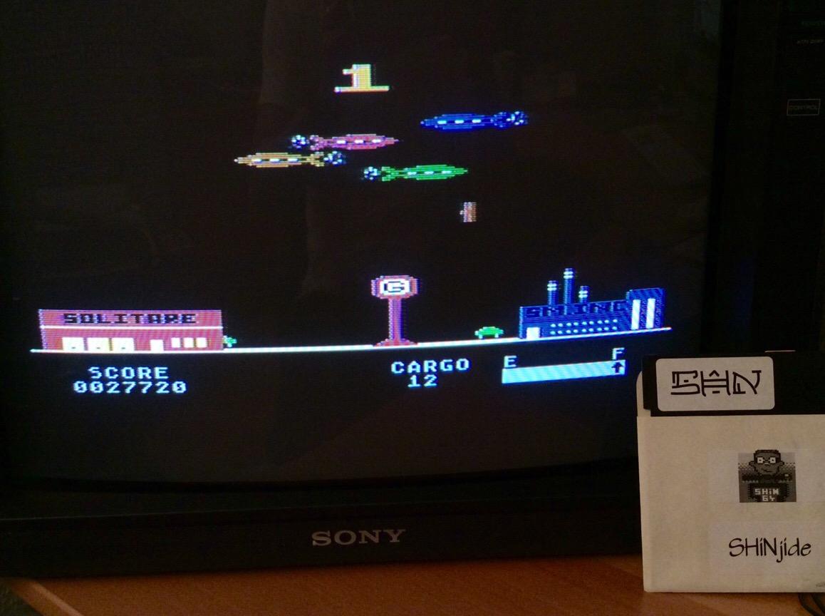 SHiNjide: Embargo (Atari 400/800/XL/XE) 27,720 points on 2015-06-27 03:57:30