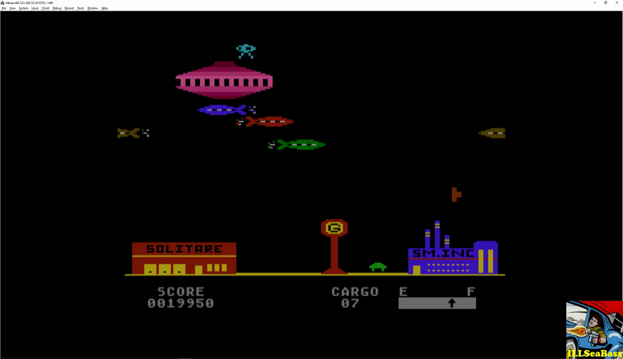 ILLSeaBass: Embargo (Atari 400/800/XL/XE Emulated) 19,950 points on 2016-12-21 21:29:06