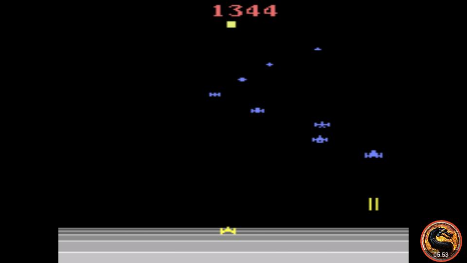 omargeddon: Encounter at L5 (Atari 2600 Emulated Novice/B Mode) 1,344 points on 2019-06-24 23:38:17