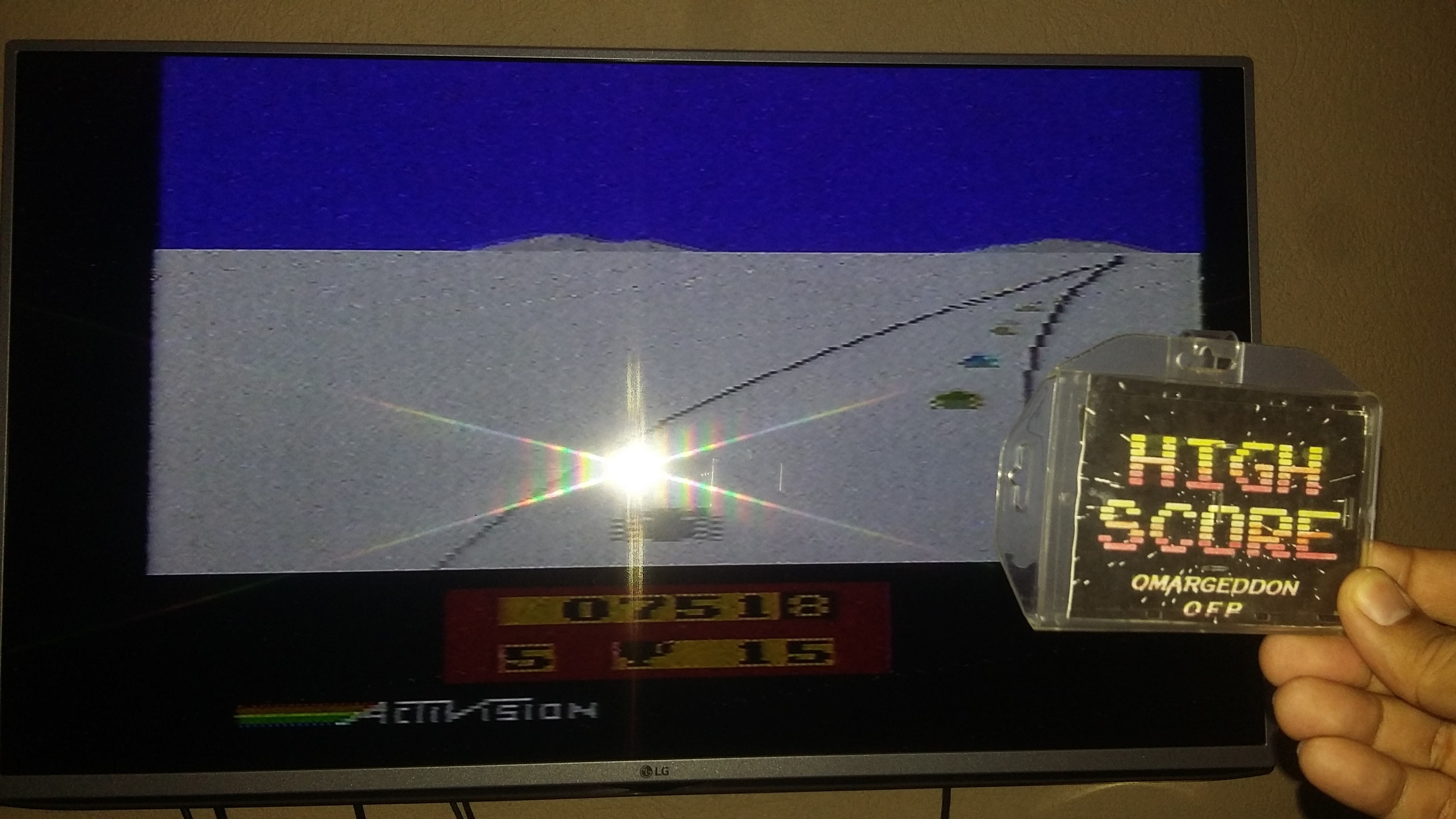 omargeddon: Enduro (Atari 2600 Expert/A) 752 points on 2018-10-26 18:54:01