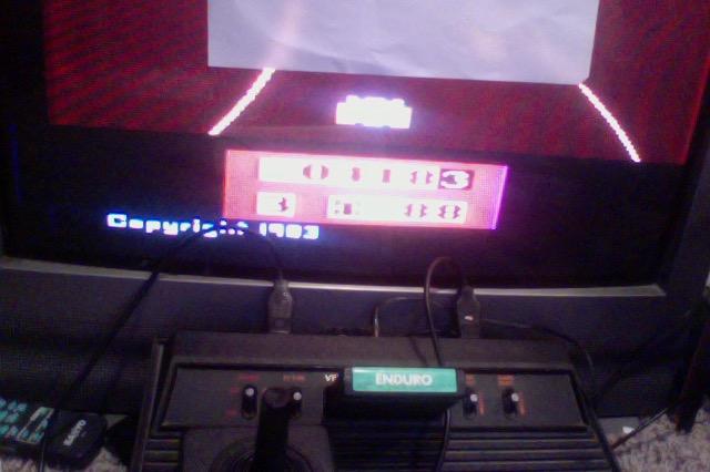 FlowboJoe: Enduro (Atari 2600 Novice/B) 418 points on 2018-01-05 13:10:05