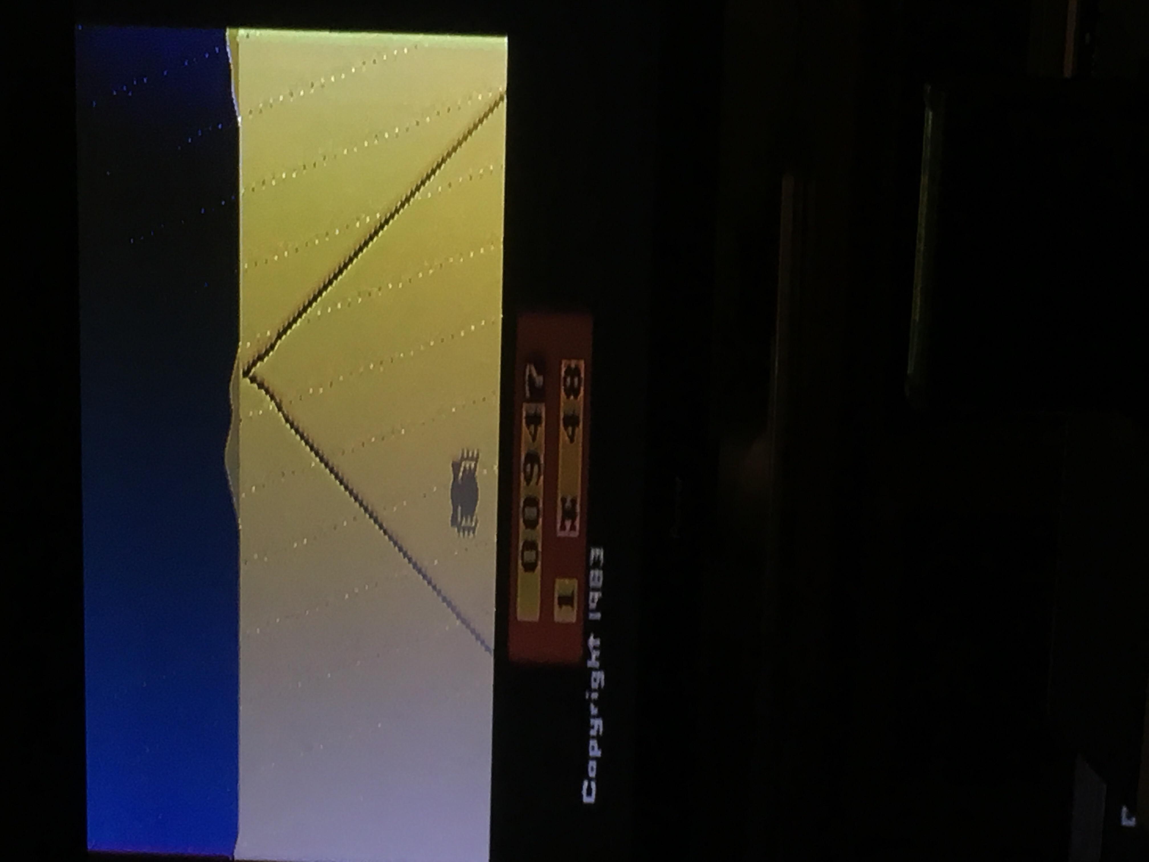 Pixel0501: Enduro (Atari 2600 Novice/B) 947 points on 2018-09-23 17:34:52