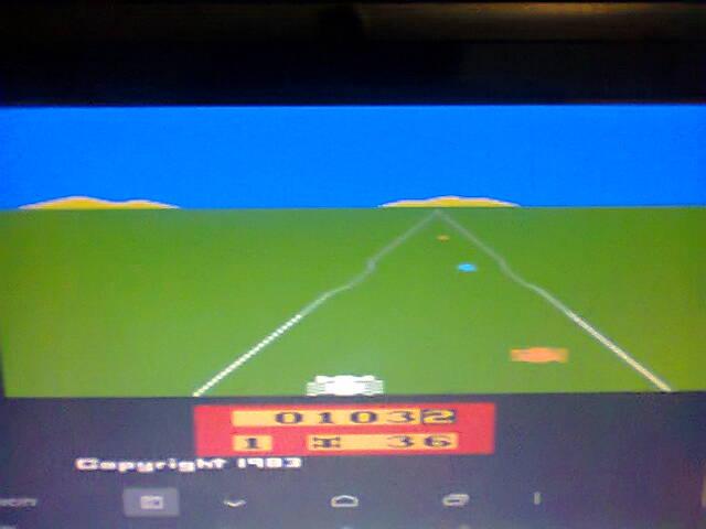 ecworiginal: Enduro  (Atari 2600 Emulated Expert/A Mode) 103 points on 2015-12-14 22:27:46