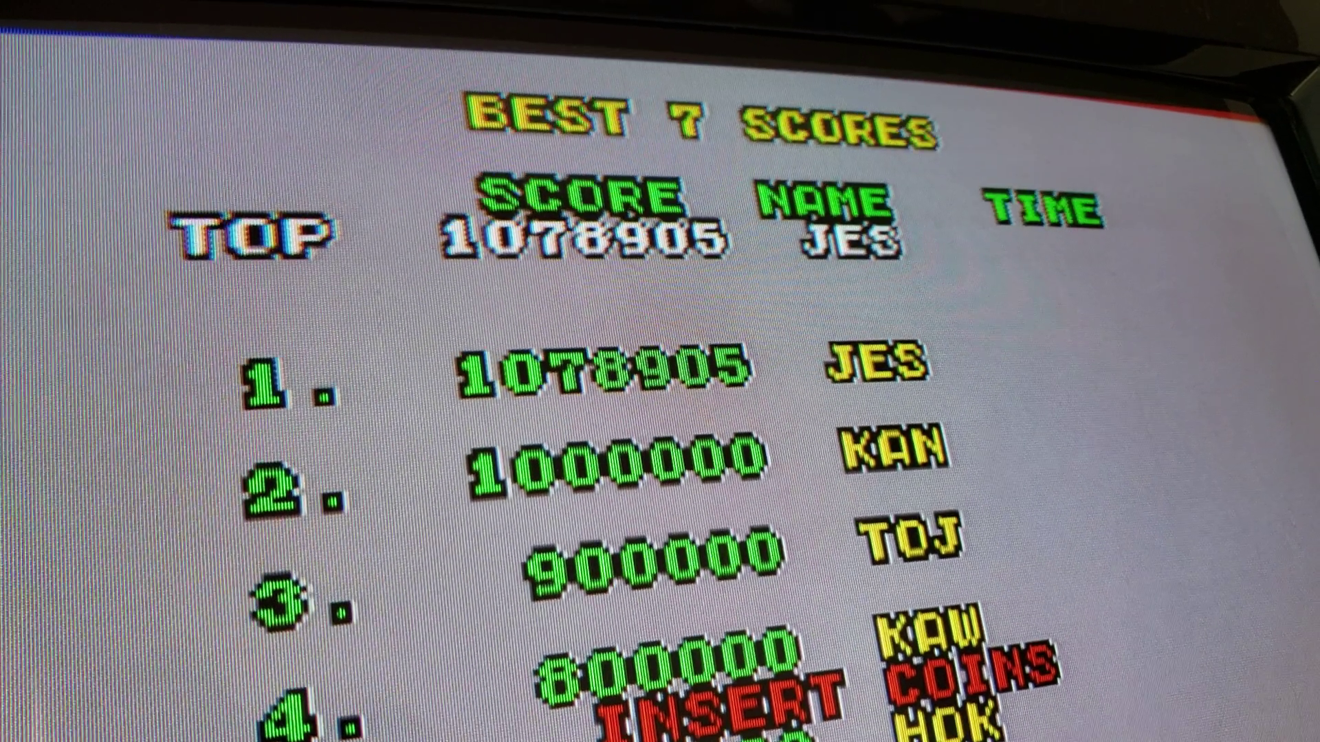 JES: Enduro Racer [enduror] (Arcade Emulated / M.A.M.E.) 1,078,905 points on 2020-01-12 17:37:16