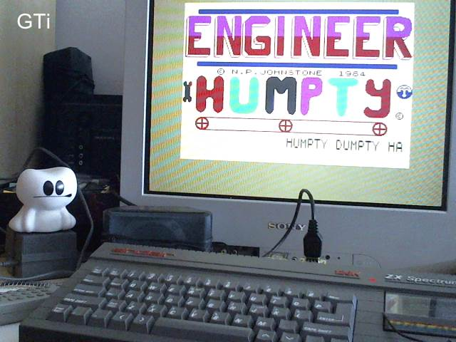 GTibel: Engineer Humpty (ZX Spectrum) 924 points on 2017-05-27 06:13:42