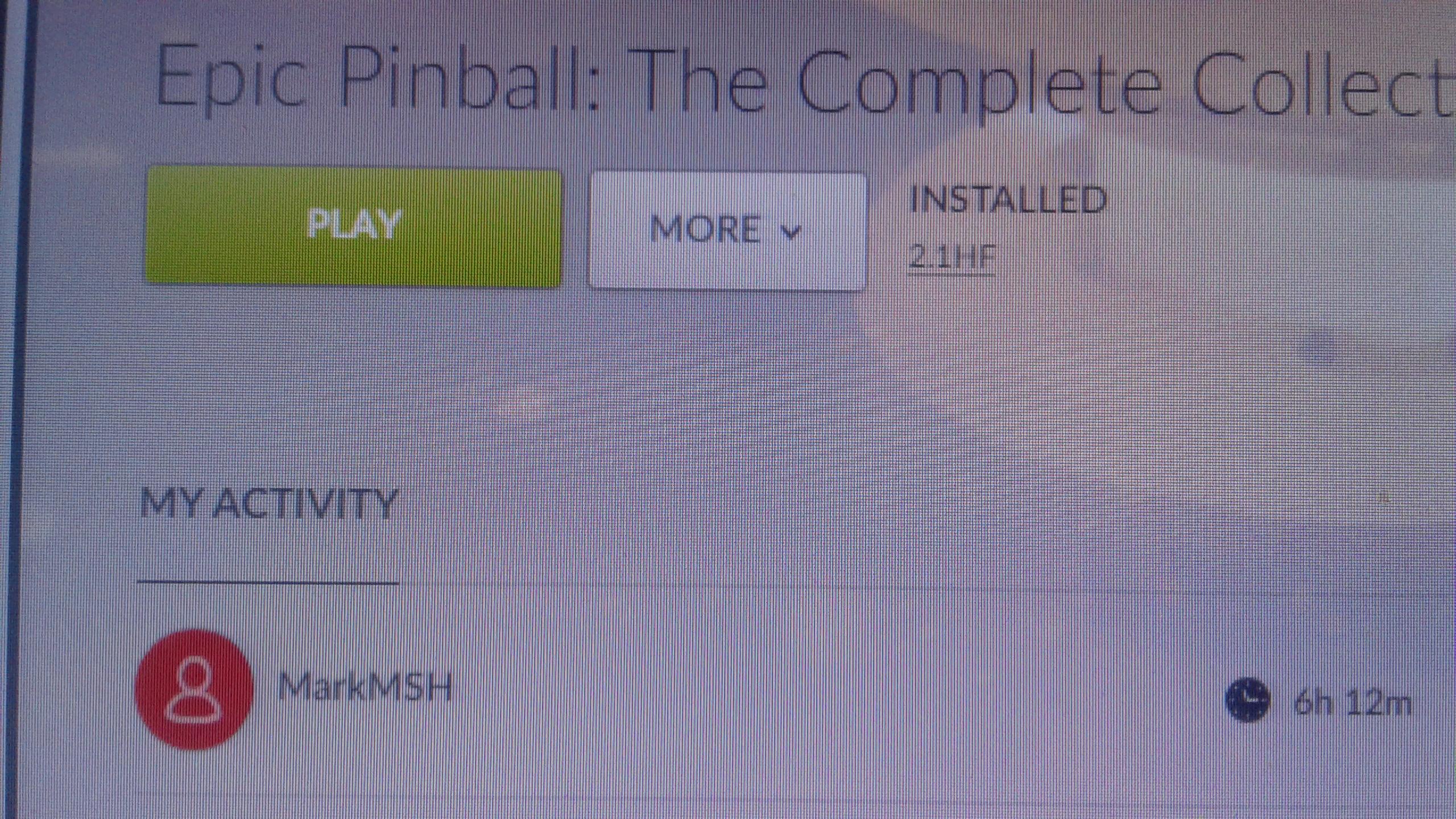 Epic Pinball: African Safari 9,860,000 points