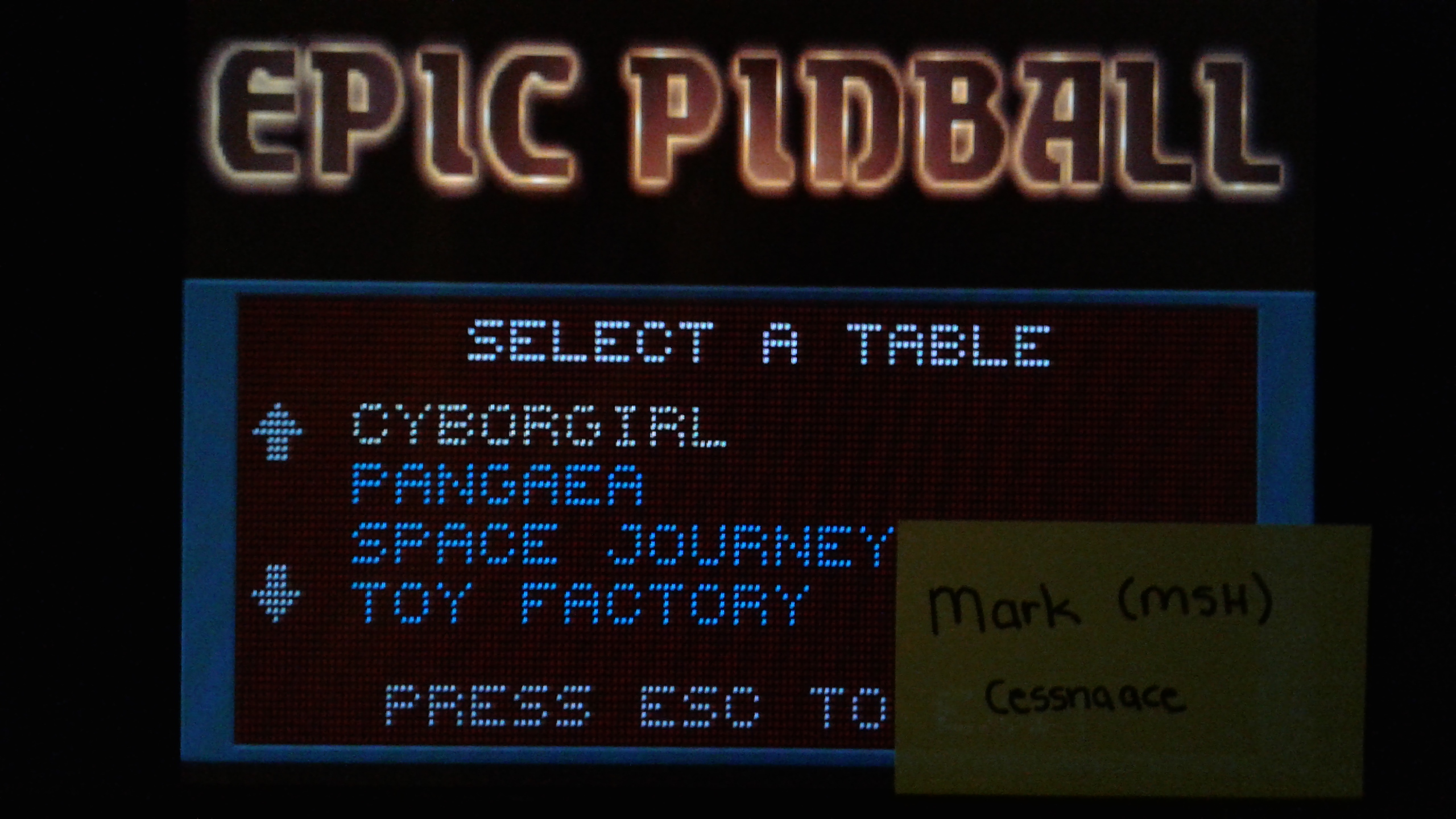Mark: Epic Pinball: Cyborgirl (PC Emulated / DOSBox) 2,662,150 points on 2019-05-13 02:06:38
