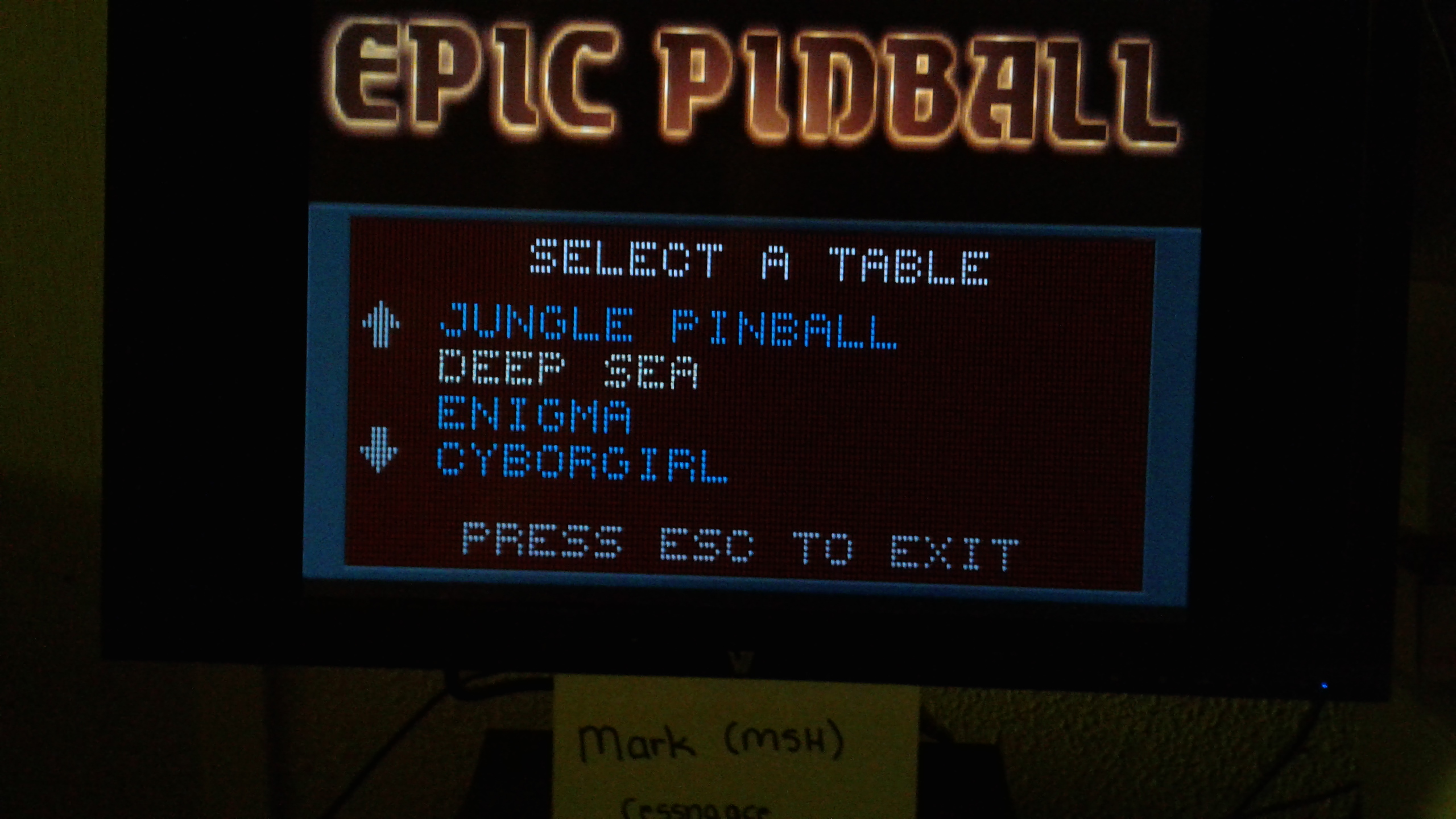 Mark: Epic Pinball: Deep Sea (PC Emulated / DOSBox) 166,772,205 points on 2019-05-13 01:57:48