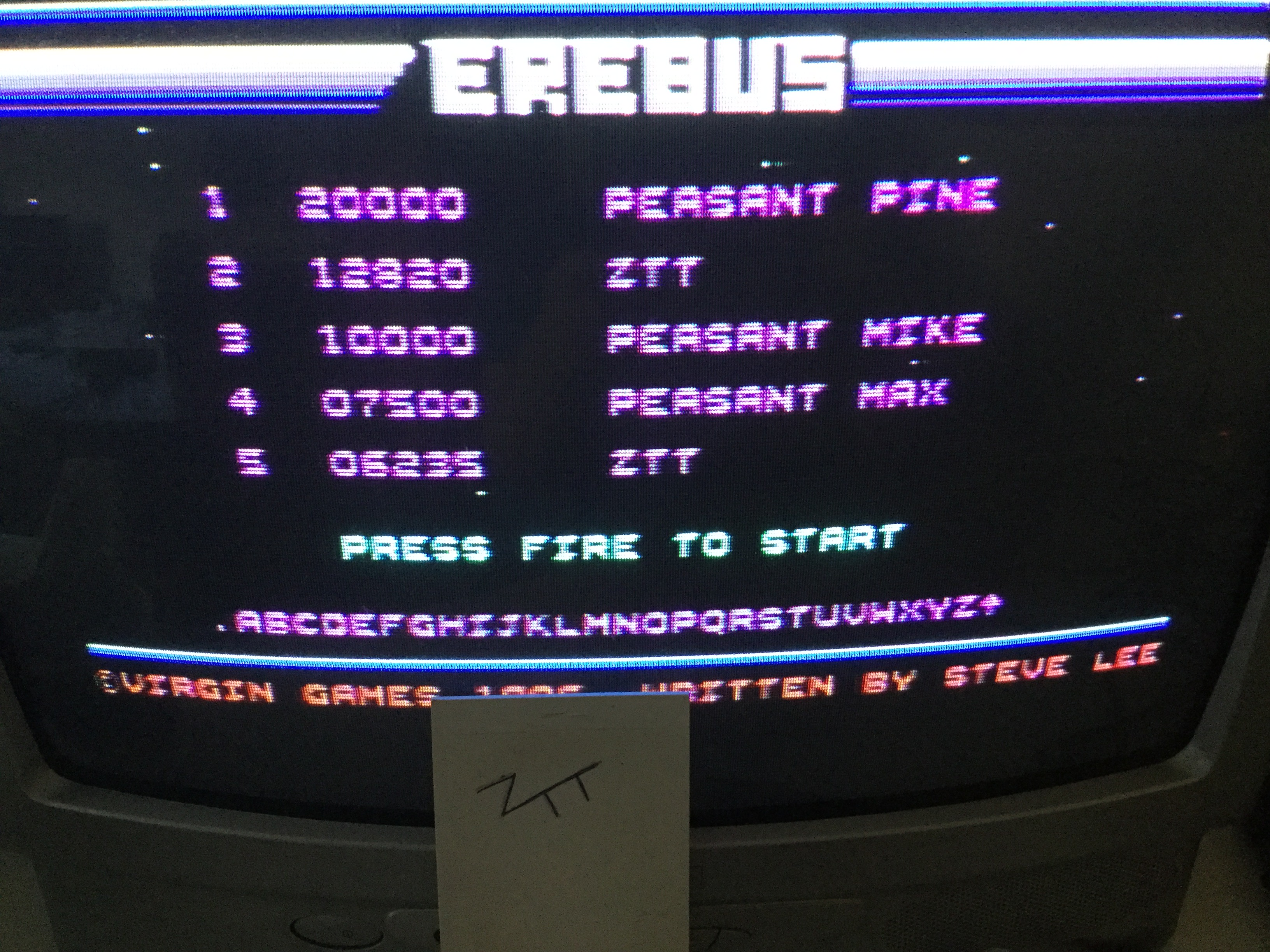 Frankie: Erebus (Commodore 64) 12,820 points on 2017-05-11 12:48:46
