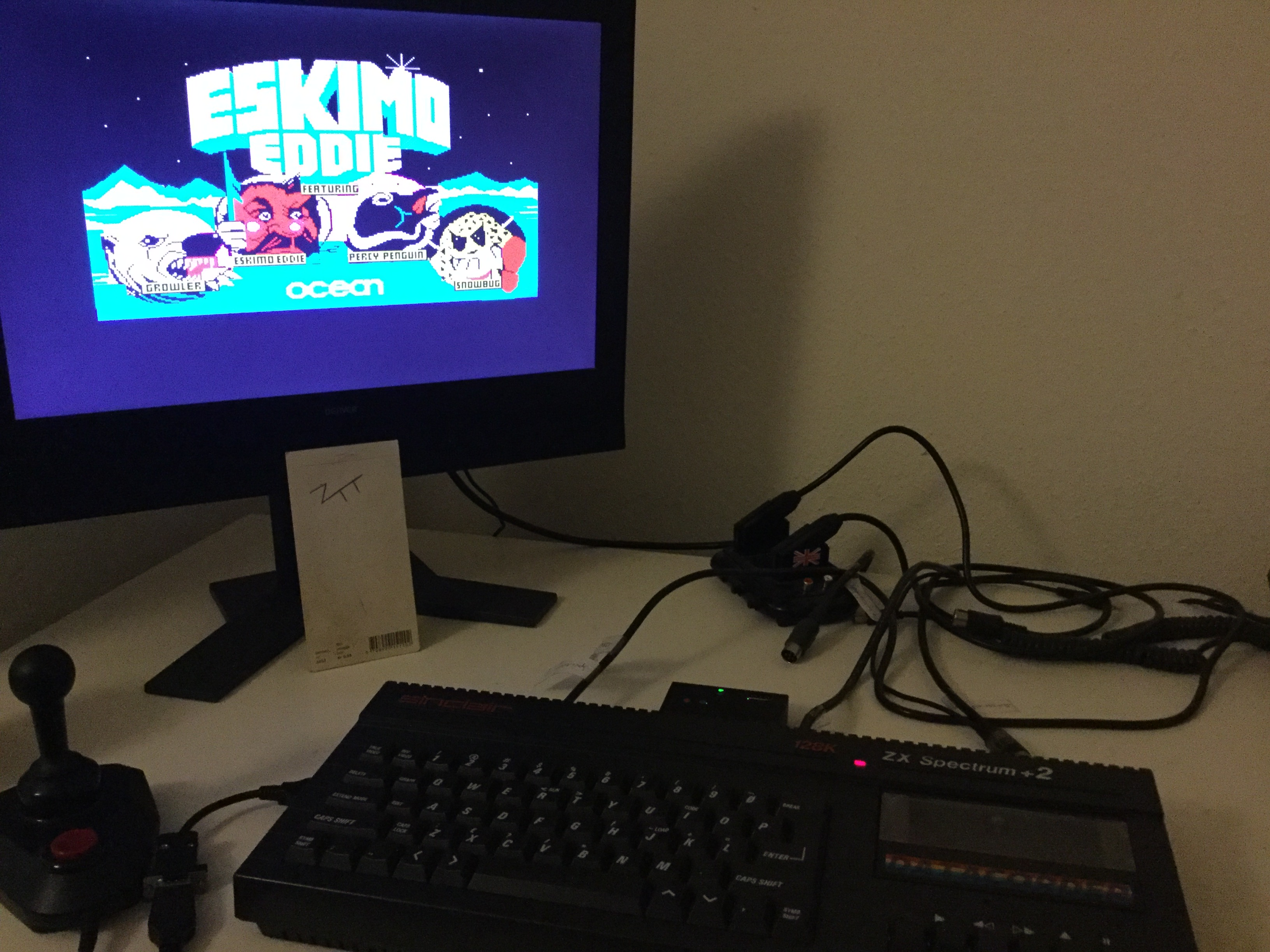 Frankie: Eskimo Eddie (ZX Spectrum) 2,700 points on 2019-10-05 03:29:00