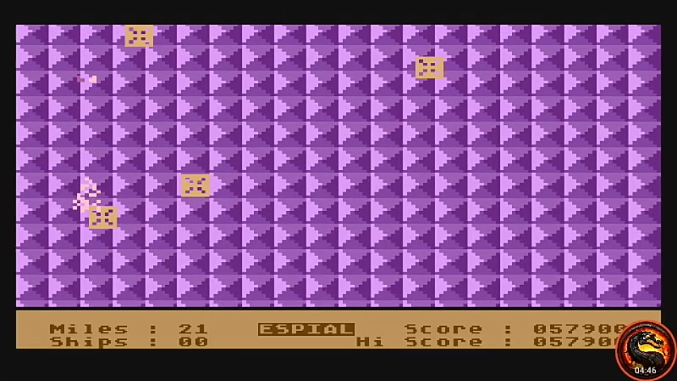 omargeddon: Espial (Atari 400/800/XL/XE Emulated) 57,900 points on 2020-10-11 23:42:20
