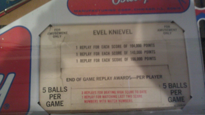 ichigokurosaki1991: Evel Knieval [Bally EM] (Pinball: 5 Balls) 66,380 points on 2016-05-06 02:23:25