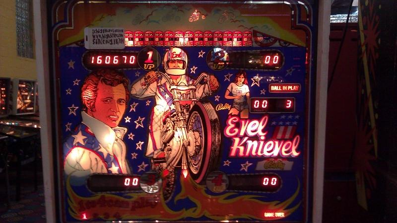 ichigokurosaki1991: Evel Knievel (Pinball: 3 Balls) 160,670 points on 2016-04-09 10:06:40