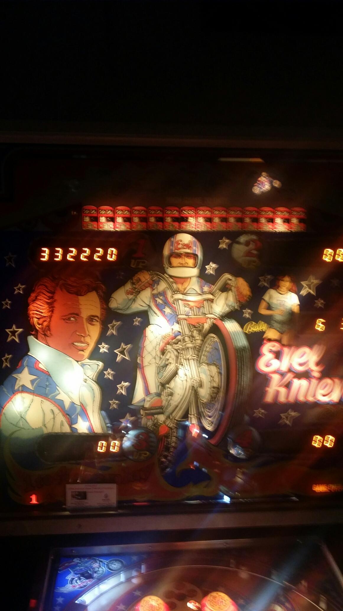 Evel Knievel 332,220 points