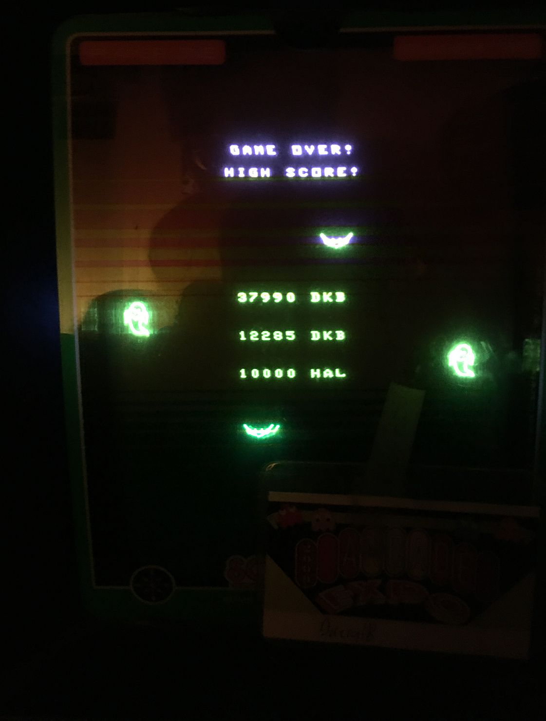 DarrylB: Every Day Is Halloween (Vectrex) 37,990 points on 2020-05-01 23:55:26