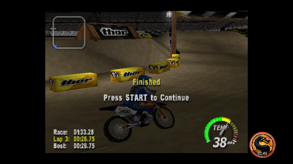 omargeddon: Excitebike 64: Time Trials [Kyoto, Japan] (N64 Emulated) 0:01:33.28 points on 2019-03-16 00:18:37