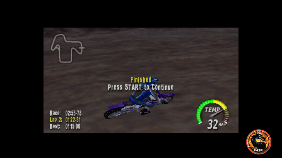 omargeddon: Excitebike 64: Time Trials [Mountain Quarry] (N64 Emulated) 0:02:55.78 points on 2019-03-16 00:24:16
