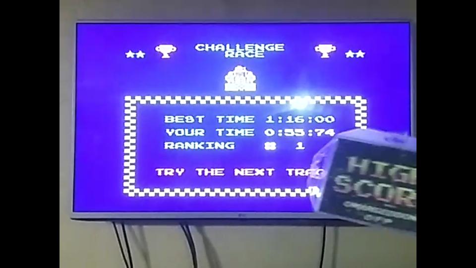 omargeddon: Excitebike: Track 1 (NES/Famicom) 0:00:55.74 points on 2018-04-27 21:54:03